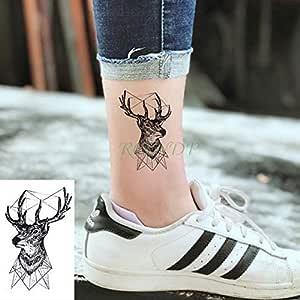 adgkitb 5 Piezas Pegatinas de Tatuaje Temporal a Prueba de Agua ...