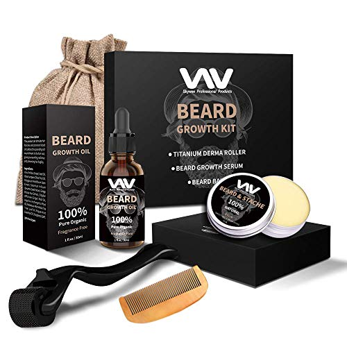 Everything a man needs for his growing beard.
