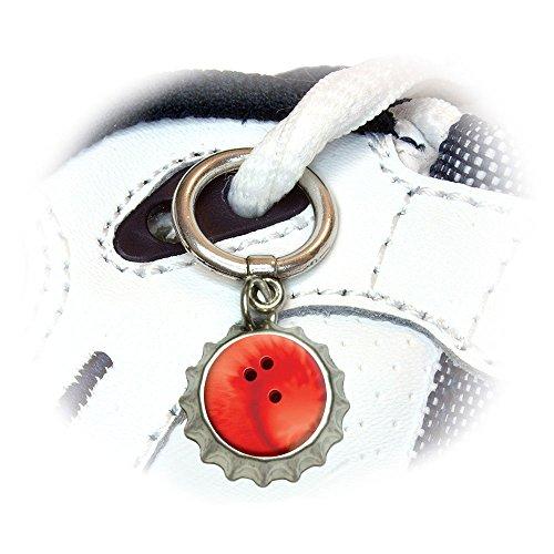 Sporting Sportsball Shoelace Bottlecap Decoration