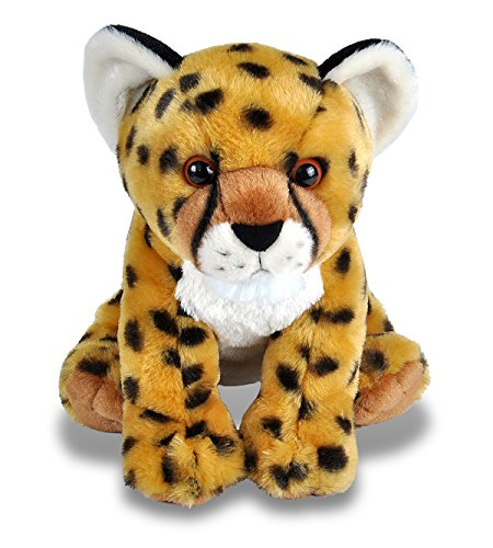 Wild Republic Cheetah Cub Plush, Stuffed Animal, Plush Toy, Gifts for Kids, Cuddlekins 12""