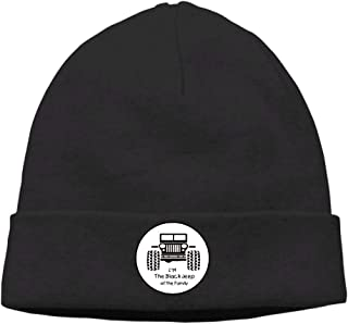 Yuerb Cappellini Baseball I Am The Black Jeep of The Family Soft Knit Beanie Hat Warm Thick Winter Hat for Men I Am The Black Jeep of The Family Winter Warm cap