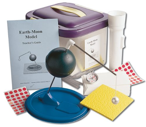 Delta Education 110-5103 Earth-Moon Model Kit