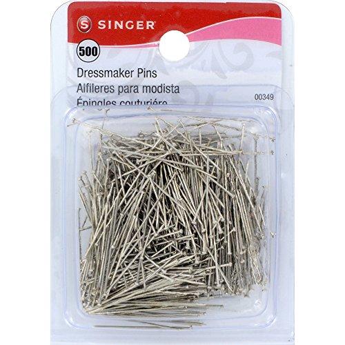 Singer Dressmaker Pins, 500-Count