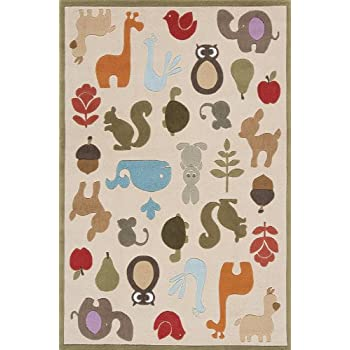 Amazon Com Momeni Rugs Lmojulmj 2ivy3050 Lil Mo Whimsy Collection
