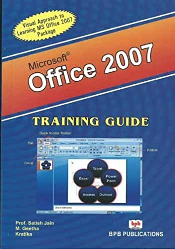 amazon in buy ms office 2007 training guide book online at low rh amazon in Microsoft Office 2016 Microsoft Office Word 2007