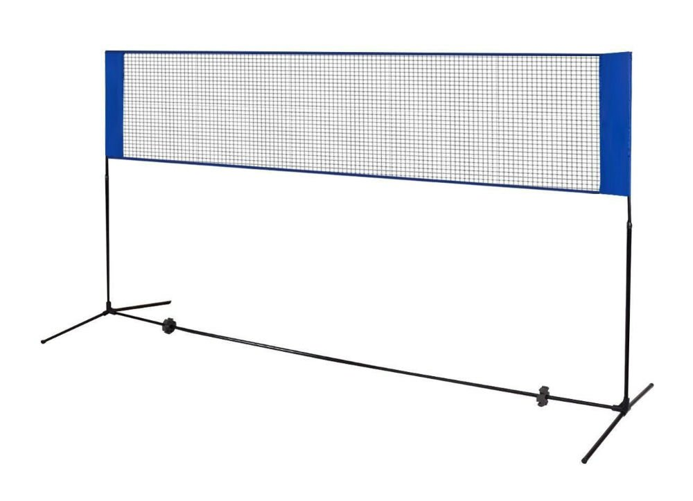 3 M x 5 ft MiniテニスバドミントンNetバレーボールネットNet withフレームスタンド折りたたみ式 B0794ZBP5R