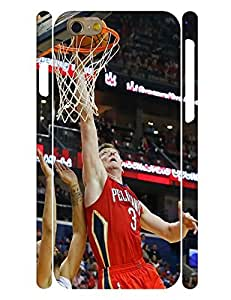 Eye-catching Theme Smart Phone Case Handsome People Basketball Athlete Pattern Snap On Case Cover for Iphone 6 (4.7) Inch (XBQ-0098T)