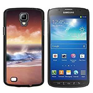 "Samsung i9295 Galaxy S4 Active / i537 (NOT S4) , JackGot - Impreso colorido protector duro espalda Funda piel de Shell (Sunset Beautiful Nature 32"")"
