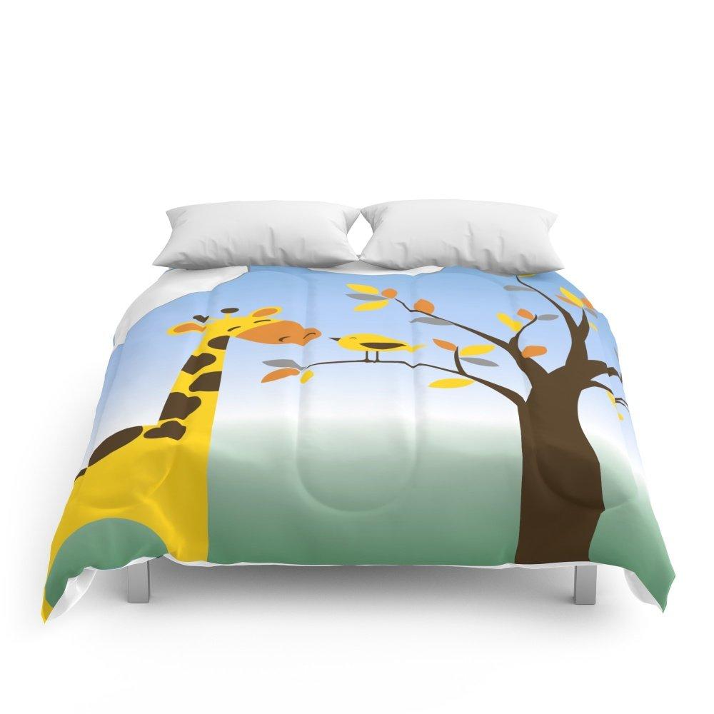 Society6 Kids Room Decor Animals Comforters Queen: 88'' x 88''