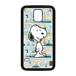 High Quality Phone Back Case Pattern Design 17Popular Cartoon Snoopy Series- For Samsung Galaxy S5