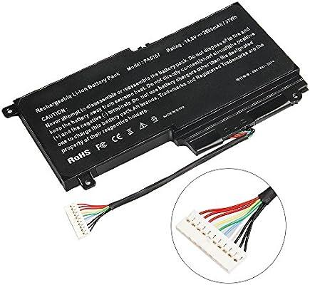 ARyee 2500mAh 14.8V PA5107 Batería del Ordenador portátil de la batería de para Toshiba Satellite L45 L45D L50 L55 Serie L55D L55t P50 P55 S55