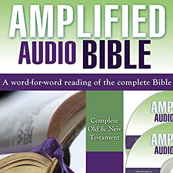 Amazon com: Amplified Bible: Complete Old & New Testament (Audible