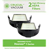 2 HEPA Filters for Hoover T-Series WindTunnel, Rewind Bagless Vacuums; Compare to Hoover Part Nos. 303172001, 303172002, 902404001; Designed & Engineered by Think Crucial