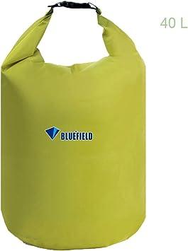 Dark Green Bluefield Waterproof Floating Dry Bag Kayak Camping Canoe 10L w Strap