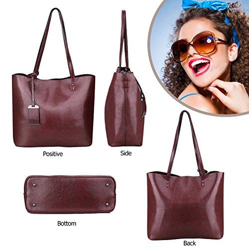 Top Bag Tote Handle Bag Purse Wine Satchel Women Shoulder Messenger Handbags PqdaqwU