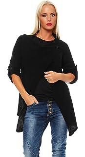Mississhop Damen Cardigan Jacke Pullover Sweatshirt Einheitsgröße 36 38 40  S M L b113a3745f