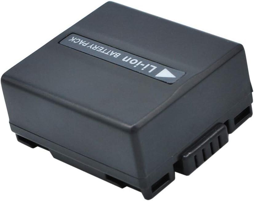 Aiyawear 750mAh//5.55Wh 7.4V Camera Battery Compatible with HITACHI CGR-DU06E//1B DZ-BP07P DZ-BP07PW DZ-BP07S DZ-BP7S DZ-BP7SJ DZ-BP7SW PANASONIC Color : Black, Size : 40.40 x 36.23 x 18.78mm