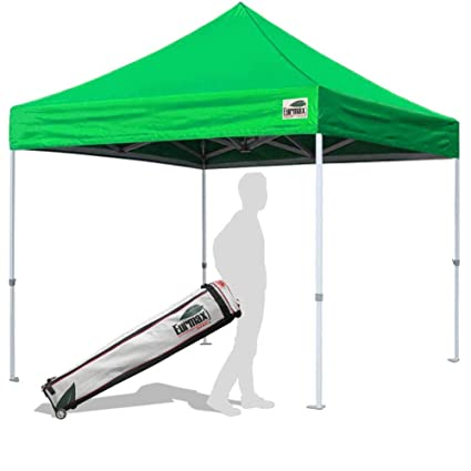 Amazon.com  Eurmax 10u0027x10u0027 Ez Pop Up Canopy Tent Commercial Instant Shelter with Wheeled Bag (Kelly Green)  Outdoor Canopies  Garden u0026 Outdoor  sc 1 st  Amazon.com & Amazon.com : Eurmax 10u0027x10u0027 Ez Pop Up Canopy Tent Commercial Instant ...