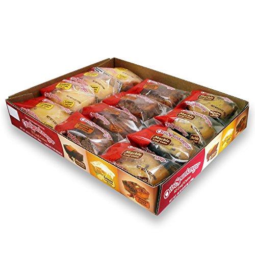 Otis Spunkmeyer Loaf Cakes Variety Pack 12 Cakes Per Box