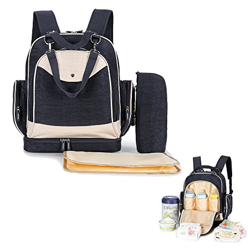 Multi-Functional Diaper Bag with Insulated Bag ...