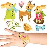 Groovi - Christmas Woodland Animals Tattoos Set (20 pack) - TATT-232