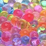 MarvelBeads Water Beads Rainbow Mix (1 Pound Bulk), for Kids Sensory Play and Spa Refill, BPA & Phthalate Free