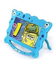 Ainol 7C08- Tablet para niños de 7 Pulgadas ,Tablet Infantil de Android 7.1 RK3126C,Regalo para niños, 1GB+8GB con WiFi ,Doble cámara,Tablet de Bob Esponja, Juegos educativos