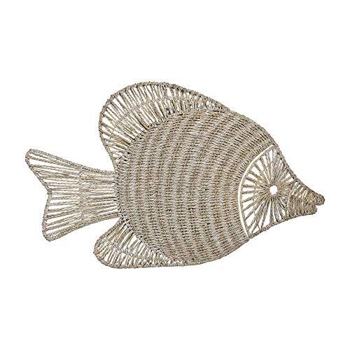 Buy sterling wicker fish wall décor 351-10216