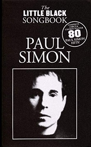 Paul Simon The Little Black Songbook Lyrics Chord Symbols Little Black Songbooks