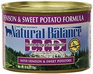 Natural balance venison sweet potato formula dog food for Natural balance fish and sweet potato