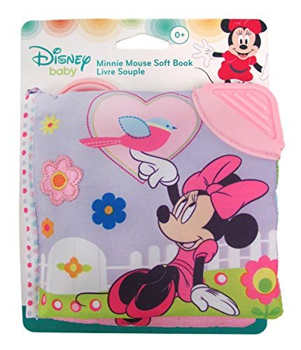 Minnie Mouse On The Go Soft Book for Babies