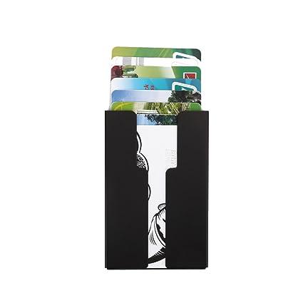 LXJ Store RFID bloqueo de tarjeta de Crédito Soporte, Tarjeta ...