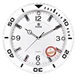 CLG-FLY Solid diamond fashion creative living room bedroom wall clock,Silver,1