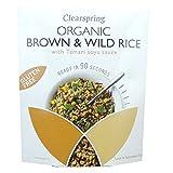 Clearspring - Organic Gluten Free Brown & Wild Rice with Tamari Soya Sauce - 250g (Case of 5)