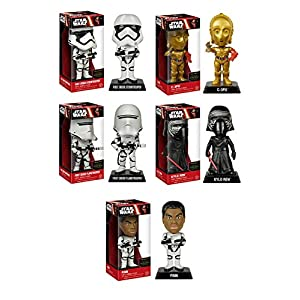 Wacky Wobblers Star Wars: TFA Set of 5