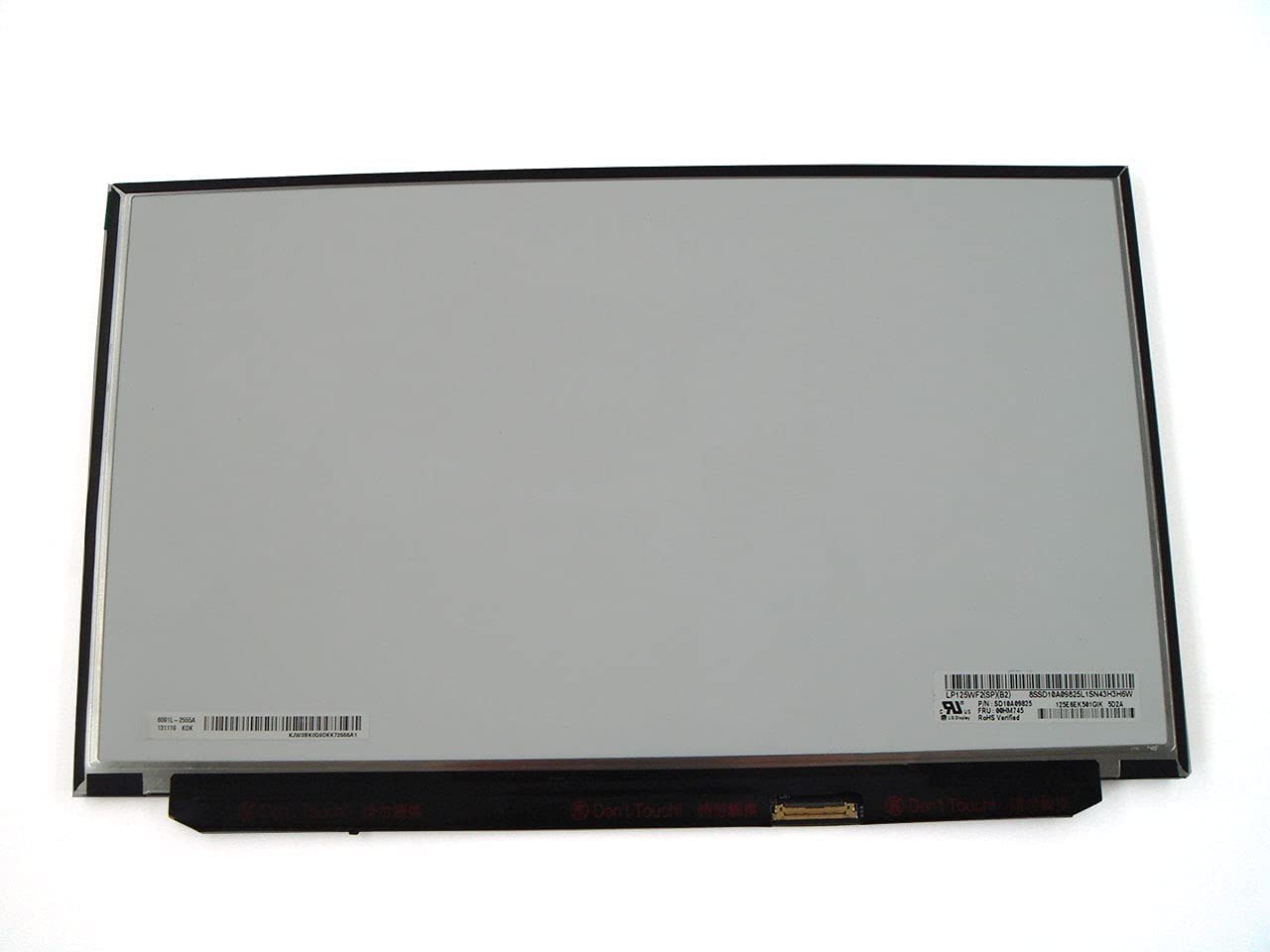 Genuine Parts for Lenovo ThinkPad X240 X250 X260 12.5 inch FHD (1920x1080) IPS LCD Screen Non-Touch 00HM745 00HN899