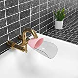 Faucet Extender, Sink Handle Extender, Kitchen Bathroom Child Washing Easily for Babies, Toddlers, Kids (Pink)