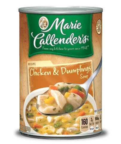 Dumpling Soup (Marie Callender's Chicken & Dumplings Soup 15 Oz. Can (Pack of 4))