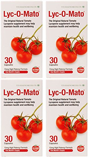 (4 PACK) - Lycomato - Lyc-o-mato 15mg | 30's | 4 PACK - Mg 0.5 Capsules