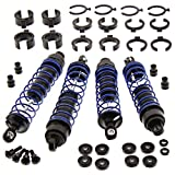 TRAXXAS SHOCKS FOR A STAMPEDE - SLASH - RUSTLER - BANDIT - AND BLUE SHOCK SPRINGS.