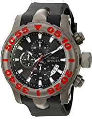 Invicta Mens 20466 TI-22 Analog Display Quartz Black Watch