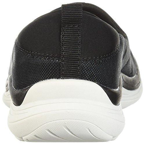 Easy Spirit Womens Glassy2 Sneaker Black