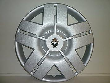 Juego de Tapacubos 4 Tapacubos Diseño Renault Laguna Desde 2006 r 16 () Logo Cromado: Amazon.es: Coche y moto
