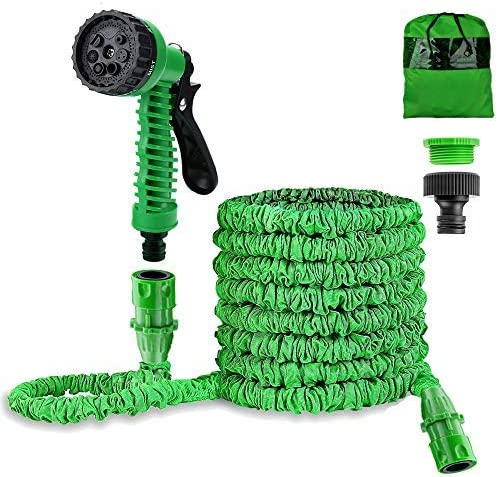 Liwiner Garden Hose Pipe 100FT 3 Times Expanding Flexible Magic Light Weight Hose Pipe with 7 sprayer Gun WAS £26.99 NOW £13.49 w/code SE2UCXB3 @ Amazon