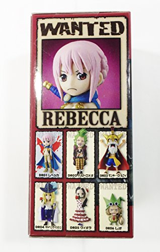 World Piece dress Rosa Collectable Rebecca separately Figures Zqdgpq