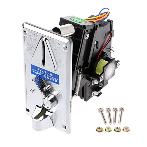 UJuly Advanced CPU Multi Coin Selector Acceptor for Vending Machine Replacement Arcade Game Accessories Supplies 2.52