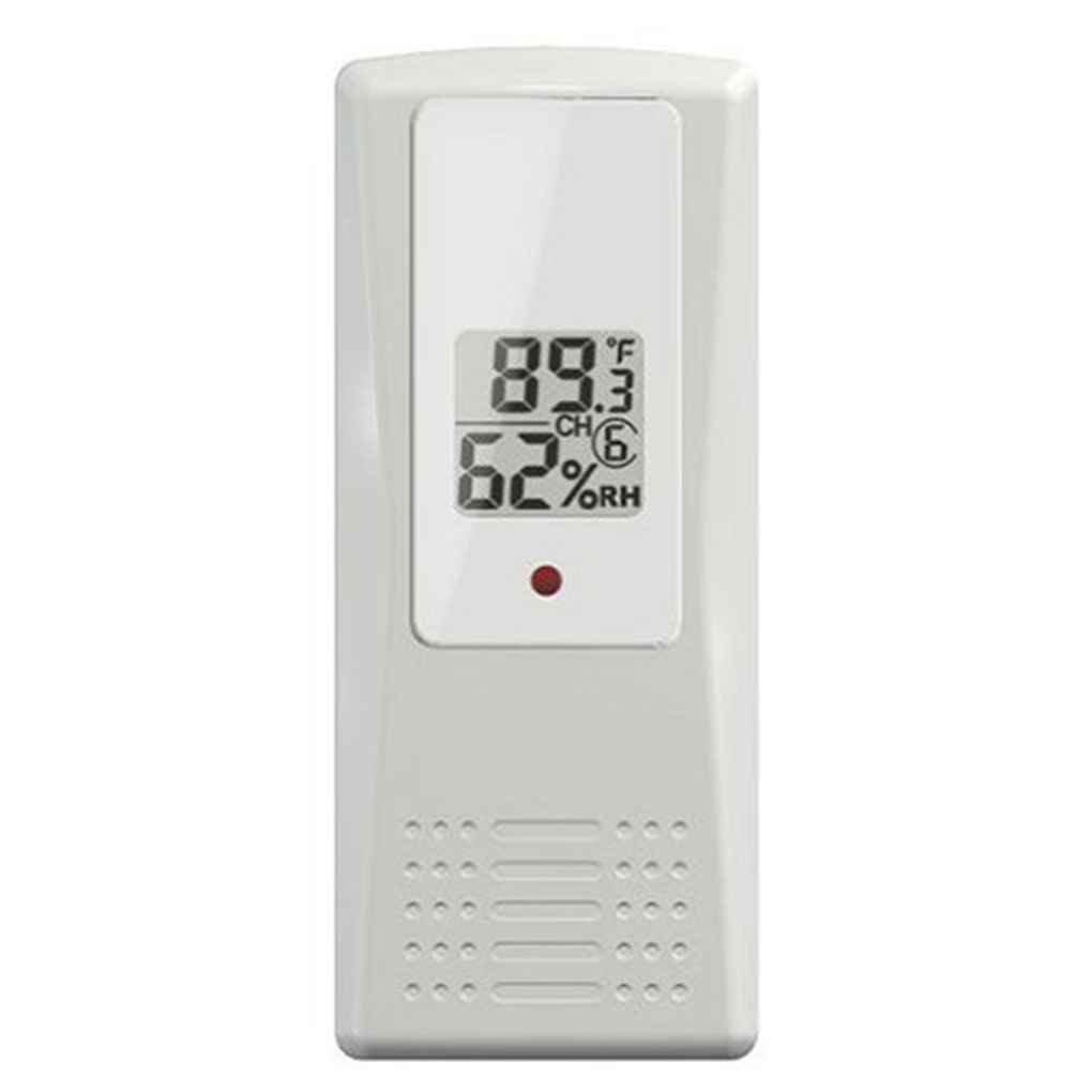 Bodbii Outdoor Indoor Wireless Digital-Thermometer Thermo-Hygrometer Anzeige Emitter Temperatur Humidometer Remote Sensor