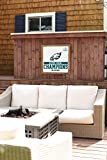 Rustic Marlin Designs NFL Philadelphia Eagles Super Bowl Champions Vintage Wall Art, White, One Size