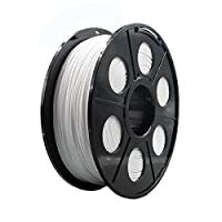 Hackka 1.75mm 1KG/2.2lb White PA Nylon 3D Printing Filament by Hackka