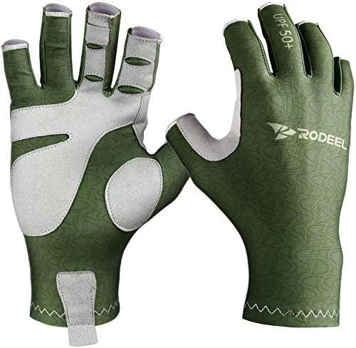 Rodeel 釣りグローブ UV保護手袋 日焼け防止 3色 2サイズ